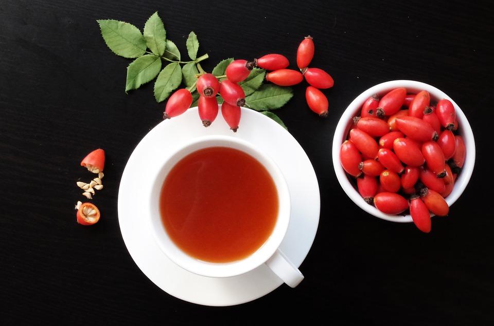 šípkový ča