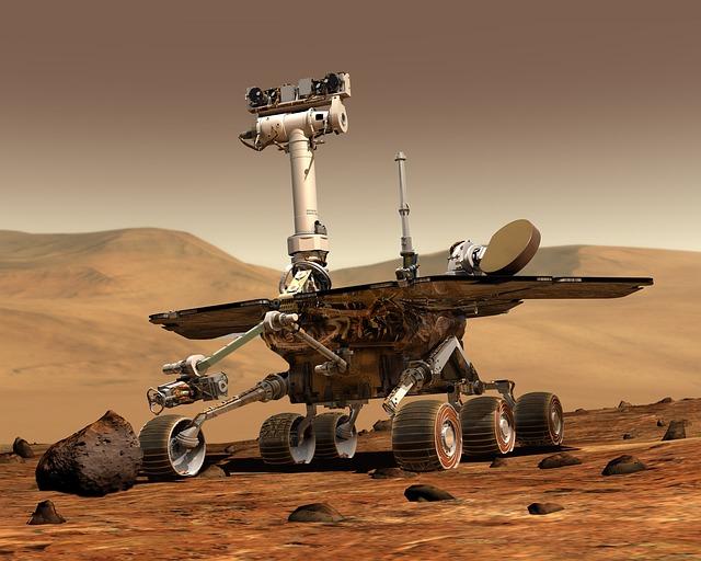průzkumník na Marsu